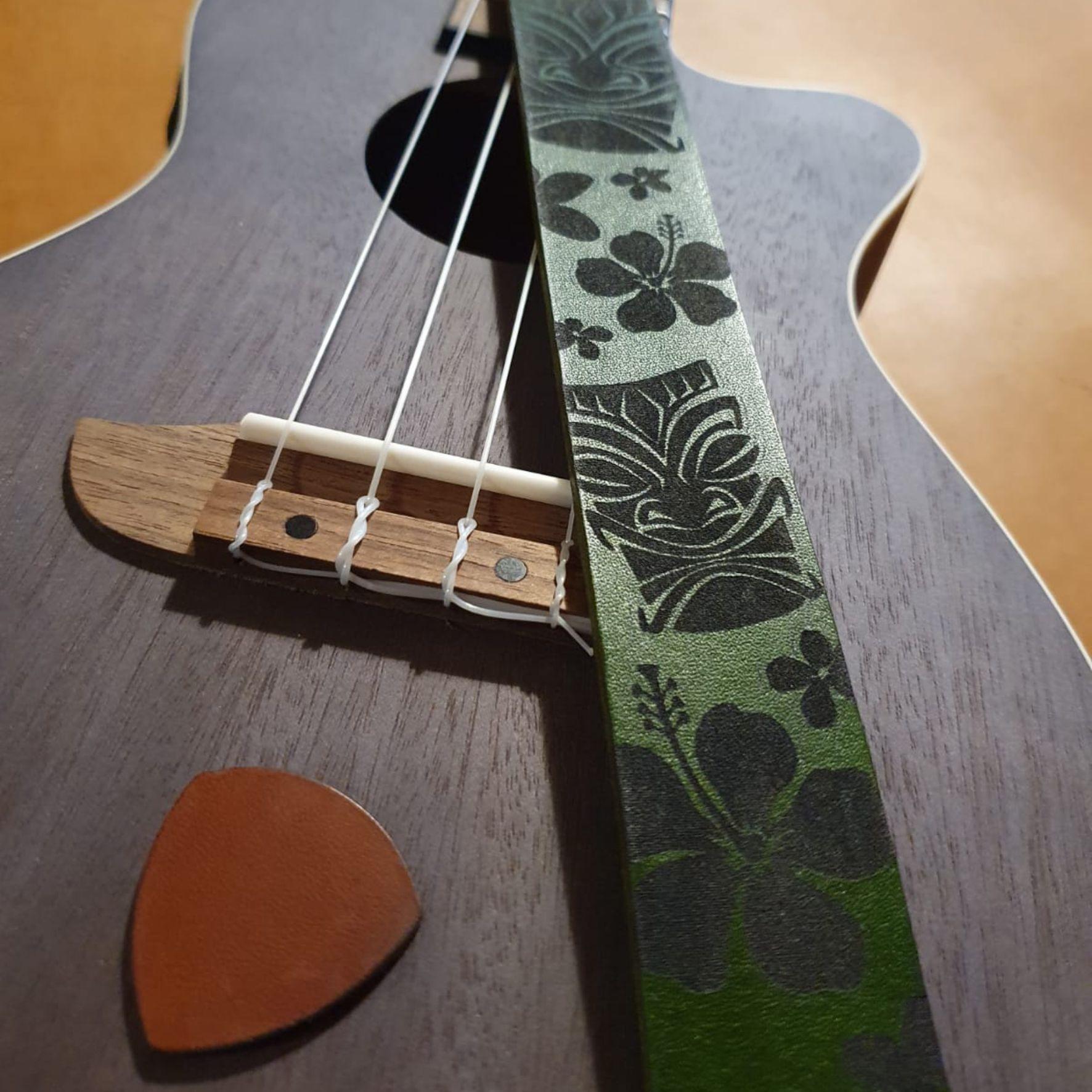 Leder Gitarrengurt Ukulele